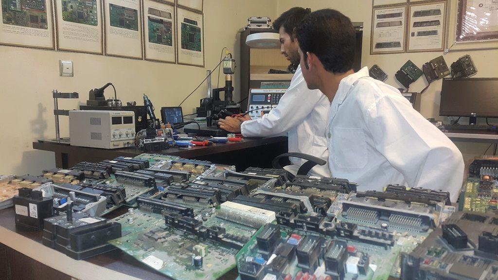 آموزش تعمیرات ای سی یو خودروهای وارداتی و داخلی